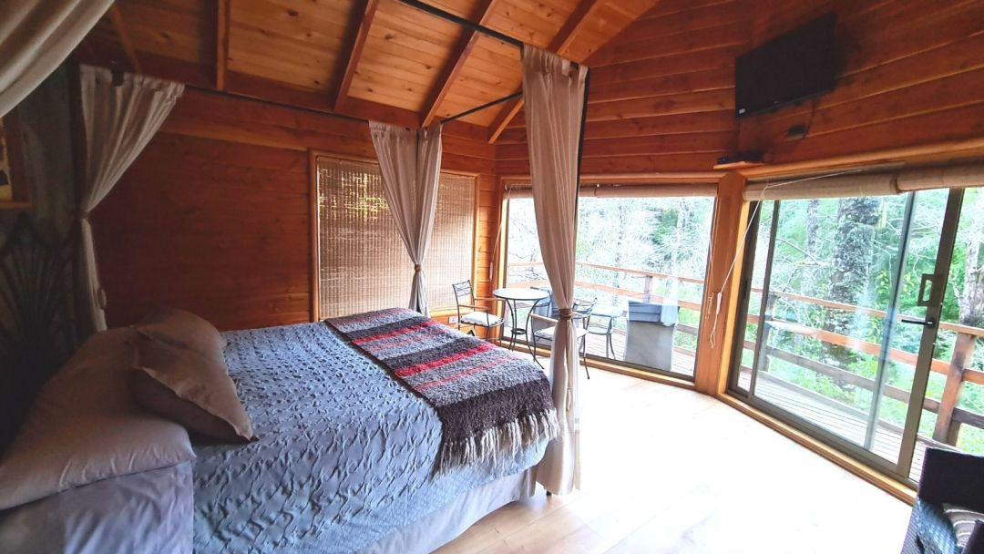 Así lucen las habitaciones en termas de Peumayén