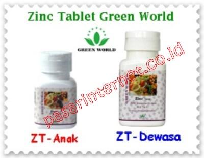 Zinc Tablet Green World
