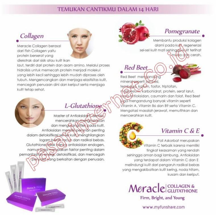 Meracle Collagen Glutathione