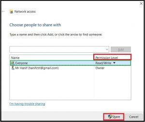 cara sharing data antar komputer