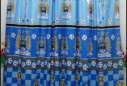 Gorden Murah Siap Pakai Motif Manchester City
