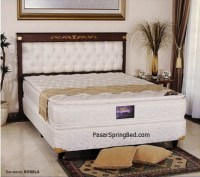 Uniland Double Pillow Top Spring Bed  Headboard Rosella ...
