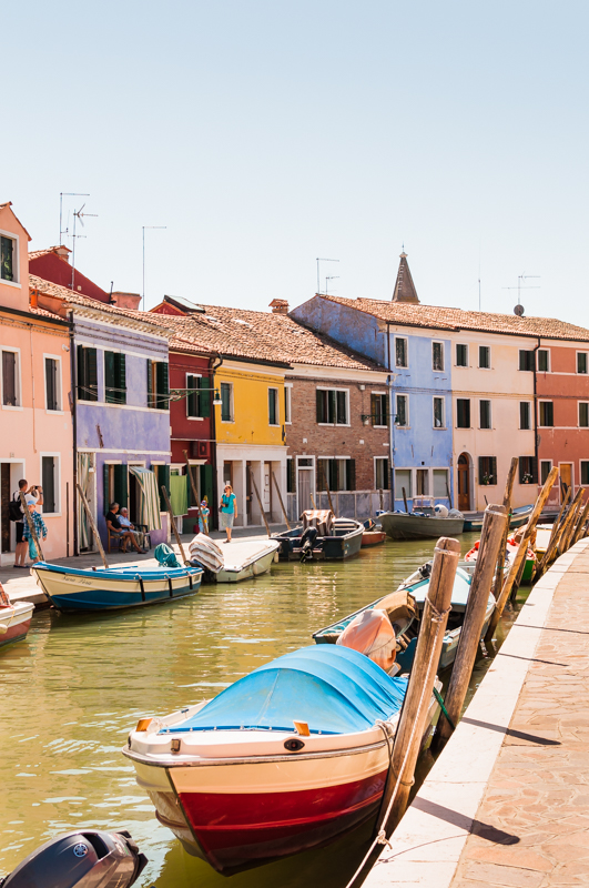 Isla de Burano. © Mare and Sara Photography.