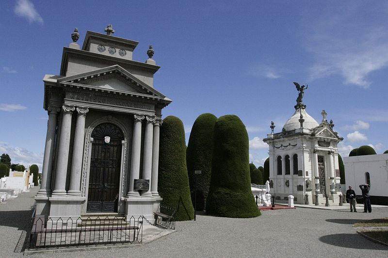 Paminklai Punta Arenas kapinėse.
