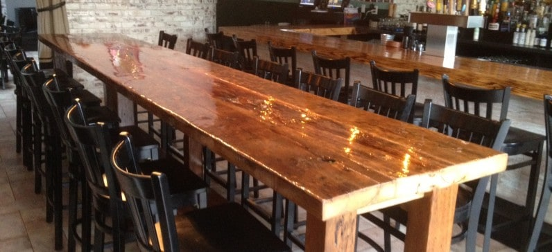 COMMUNAL RESTAURANT TABLE
