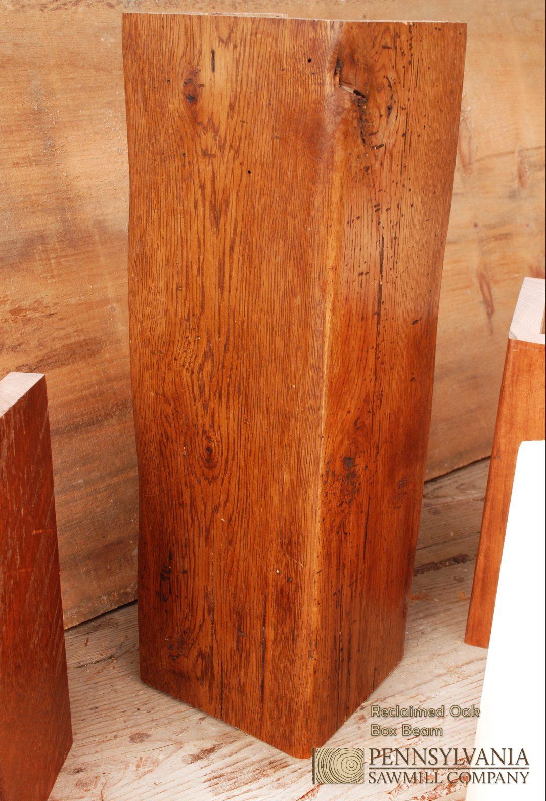 Reclaimed Oak Box Beam