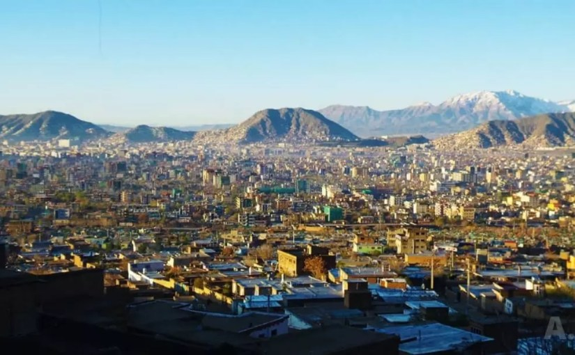 This image shows beauty of Kabul