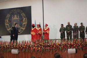 حضور بانوان در صفوف ارتش افغانستان