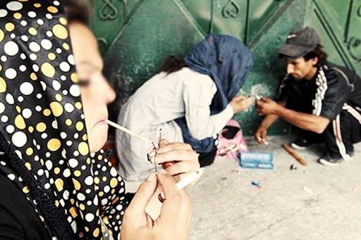 استفاده جوانان از مواد مخدر