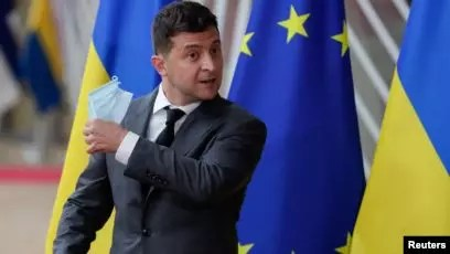 The President of Ukraine was hospitalized with Corona