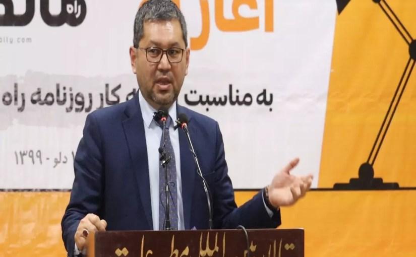 طاهر ظهیر وزیر اطلاعات و فرهنگ