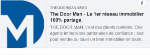Netapsys réalise le site The Doorman.immo