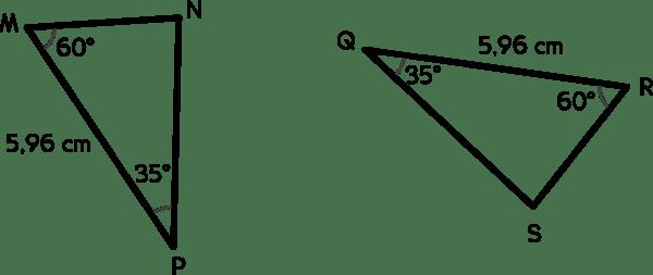 Conditions minimales d'isométrie des triangles
