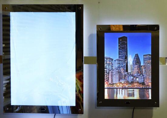 led mirror panel サイズ