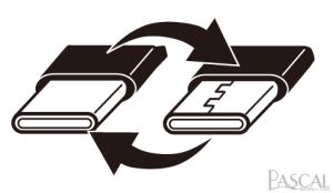 Type-Cコネクタは裏表どちらでも挿し込めます
