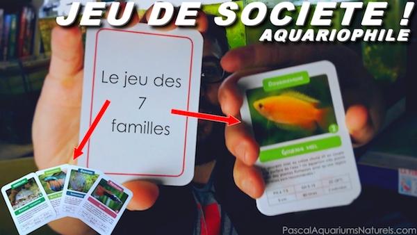 7 familles version aquarium !