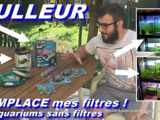 bulleurs remplaces filtres