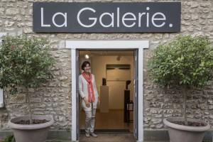Entrée de La Galerie. Giverny