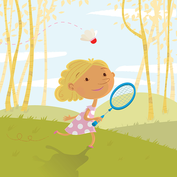 Badminton Girl