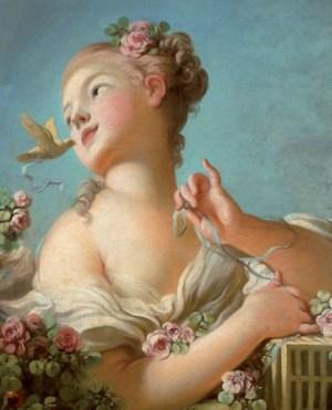 Comme On Voit Sur La Branche Au Mois De Mai La Rose : comme, branche, :Plantes, Parfum, Provence-, Après, Naissance, Baptistine., Pourquoi, N'aime, Beurre, Cacahuetes...
