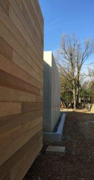 beton bois facade