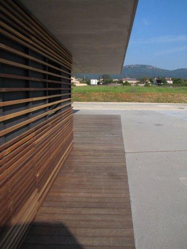 devanture bois architecture
