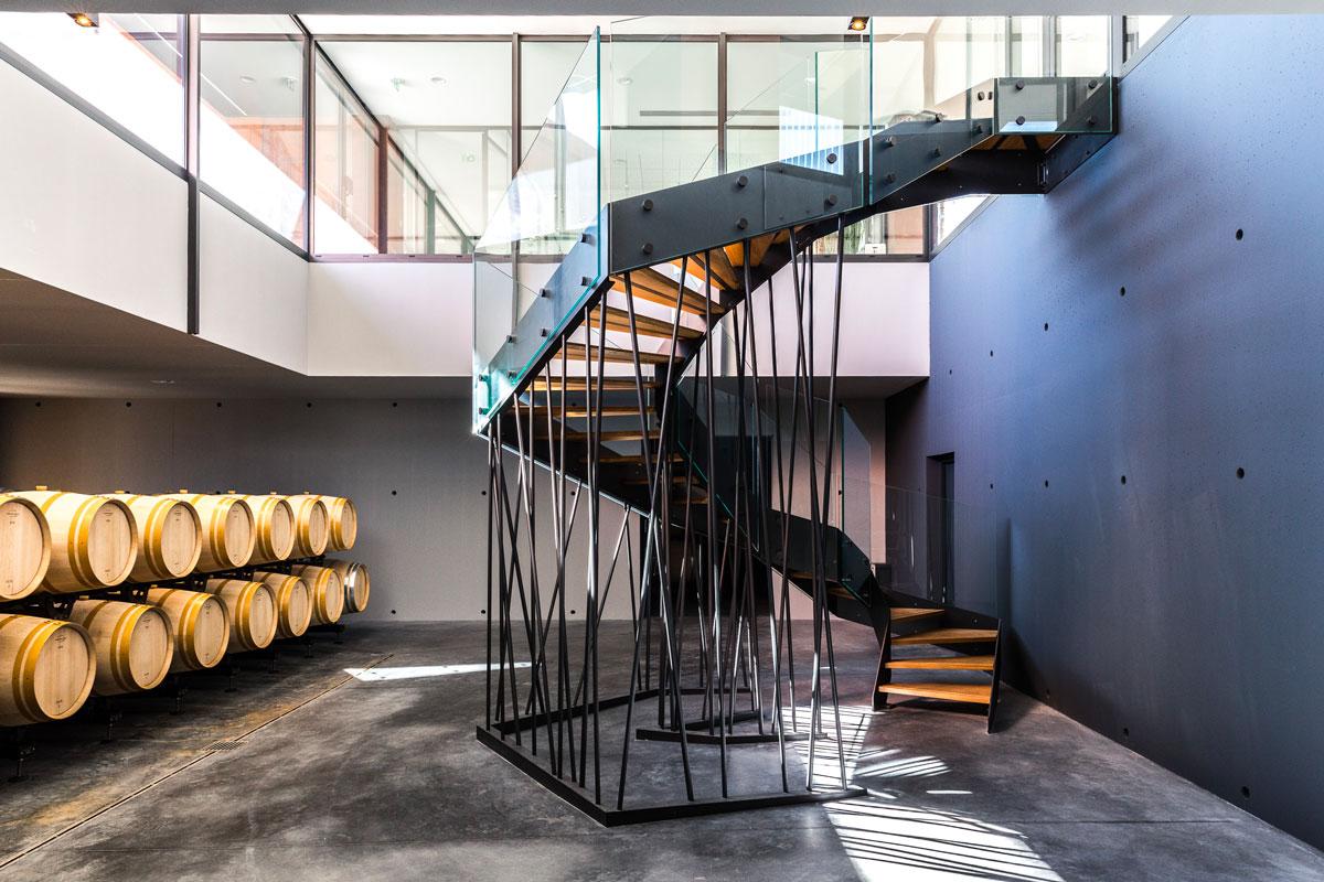 architecture sainte marguerite cave vin