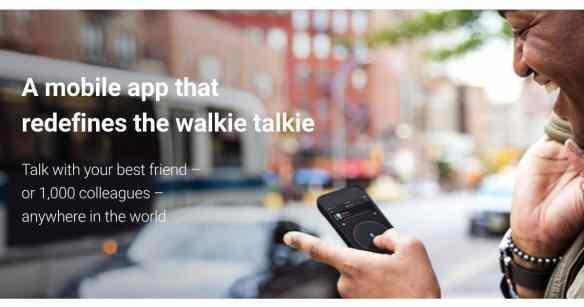 zello ptt app walkie talkie gratuite ios android