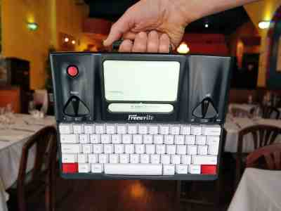 Freewrite dactylo intelligente typewriter