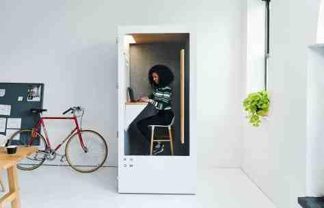 room espace travail personnel cabine téléphonique getroom