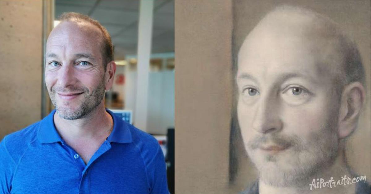Pascal Forget comment AI transforme portrait AIportraits