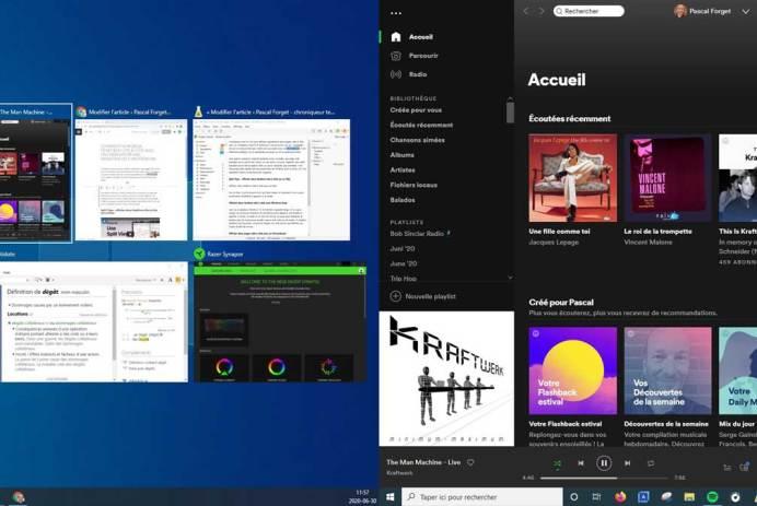 organiser rapidement ses fenêtres côte à côte Mac Windows Chromebook