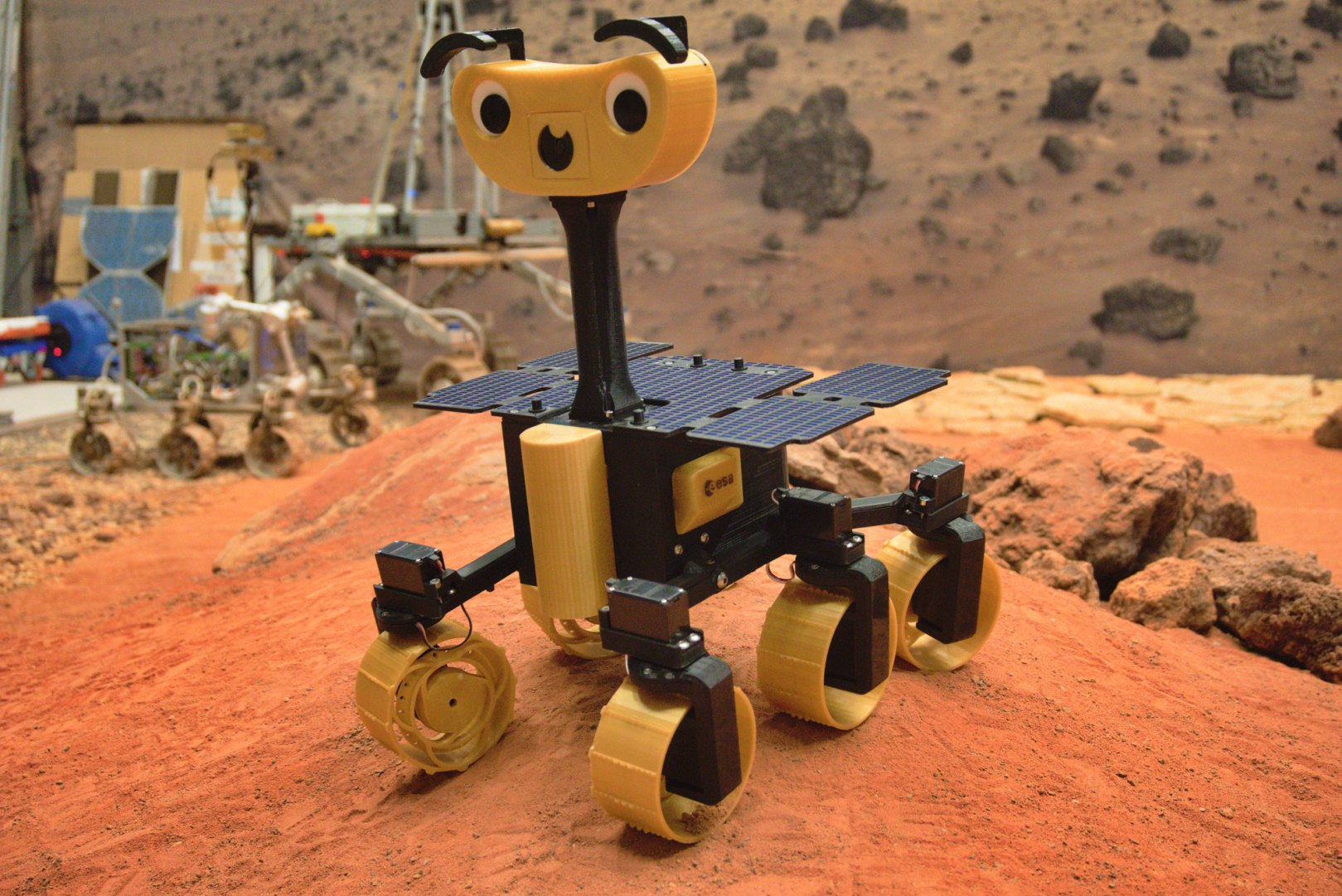 ExoMy mars rover sonde martienne ESA espace mars