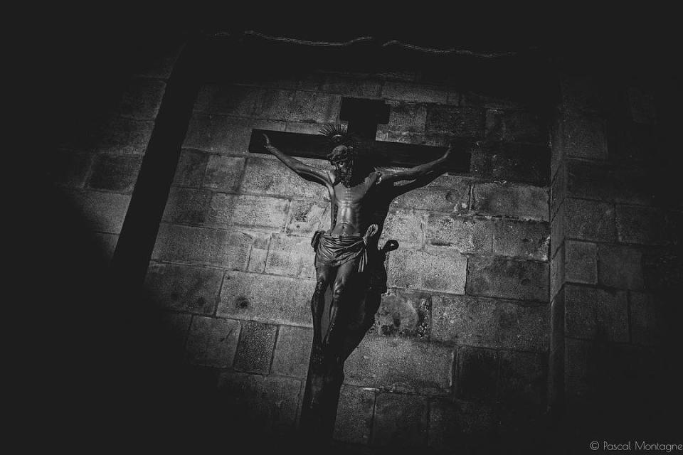 Braga christ #travel #backpack #blackandwhite #religion #religious #ceremony #easter #jesus #catholic #tourism #blackandwhitephotography #bnw #landscape #urban #braga #portugal
