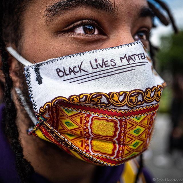 Black lives matter. Pascal Montagne for @37degres #blacklivesmatter #blm #black #people #police #violence #mask #hope #peace #blacklivesmatter✊🏽✊🏾✊🏿