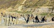 Fresney-le-Puceux, discordance du Jurassique inférieur sur le socle