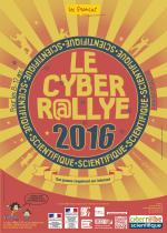 Infographiste Rouen Pascal Ridel Affiche Carte de voeux Cyber rallye 2016