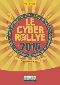 Infographiste Rouen Pascal Ridel Brochure Plaquette cyber Rallye 2016