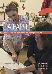 Pascal Ridel Infographiste Rouen plaquette La Fapil 2016