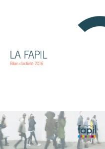Pascal Ridel Infographiste Rouen rapport d'activité la Fapil