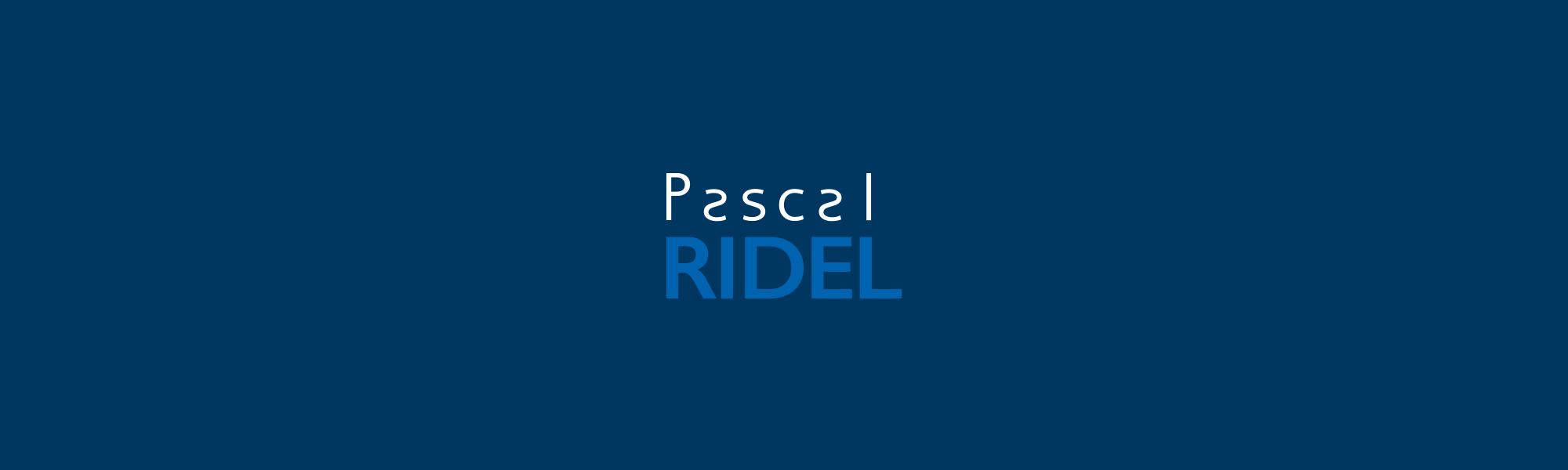 Infographiste Rouen Pascal Ridel Logo Carte de visite Infographiste Rouen