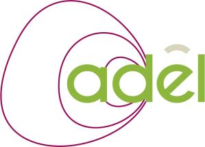 Infographiste Rouen Pascal Ridel Création logo Adel évolution vert la Fapil