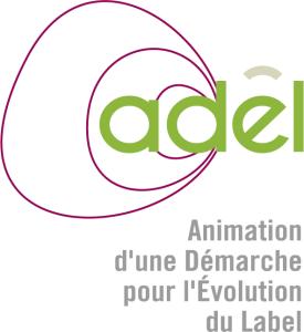 Infographiste Rouen Pascal Ridel Création logo Adel évolution vert long la Fapil