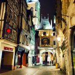 Infographiste Rouen Pascal Ridel Carte de voeux Le Gros Horloge Rouen