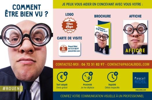 Infographiste Rouen Pascal Ridel Comment être bien vu ? - Communication visuelle