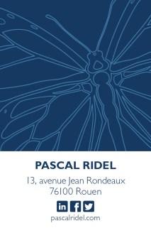 Infographiste Rouen Pascal Ridel Carte de visite Infographiste Rouen