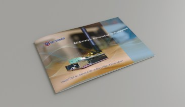 Pascal Ridel Infographiste Rouen couverture plaquette Overspeed