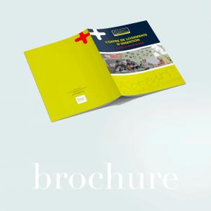 Infographiste Rouen Pascal Ridel réalisation de brochure Infographiste Rouen