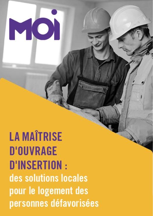Infographiste Rouen Pascal Ridel - création identité visuelle - Logo MOI Maîtrise d'Ouvrage d'Insertion pour la Fapil