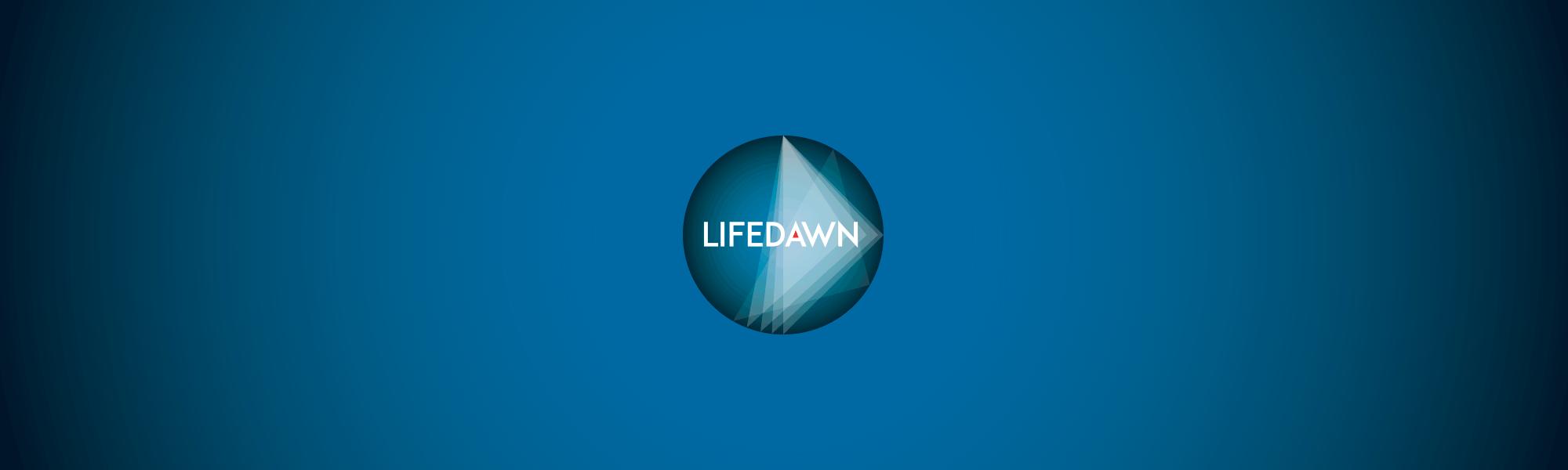 Infographiste Rouen Pascal Ridel - banniere - étude de logo lifedawn